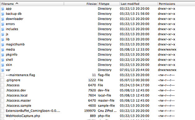 Cómo instalar extensiones: var/cache