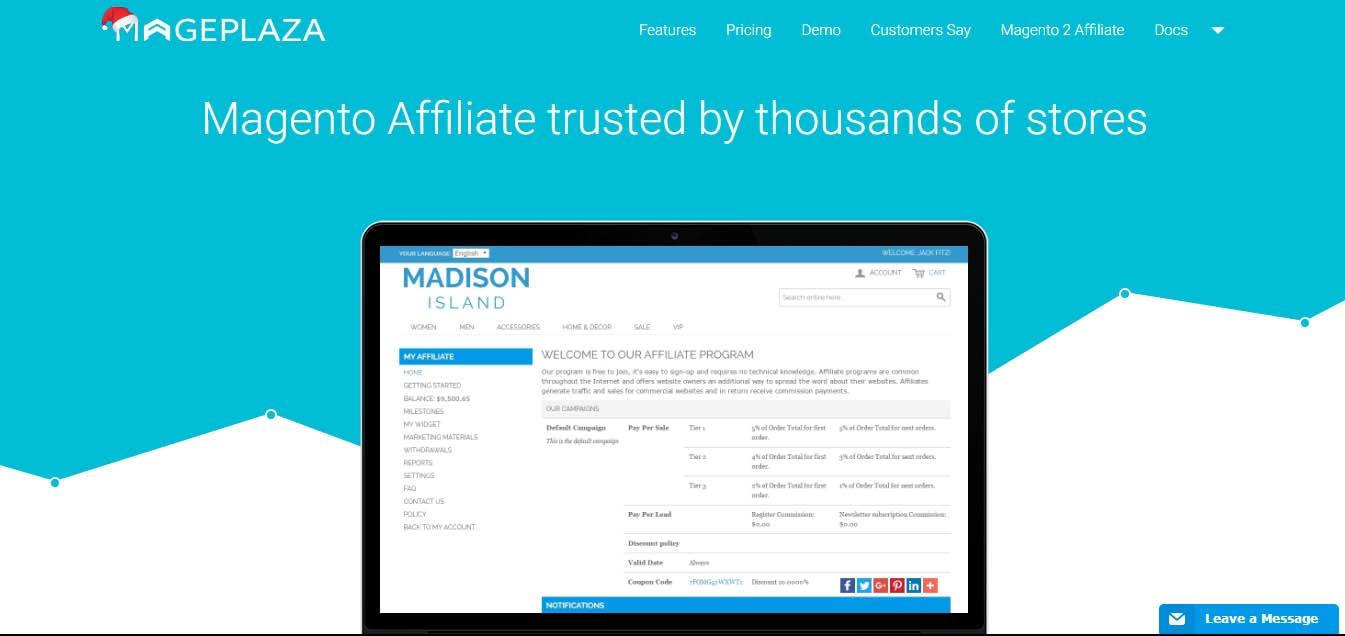 magento-affiliate-extension