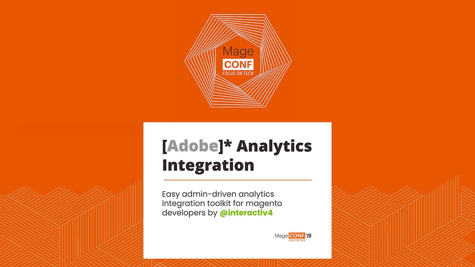 Magento Adobe Analytics Integration